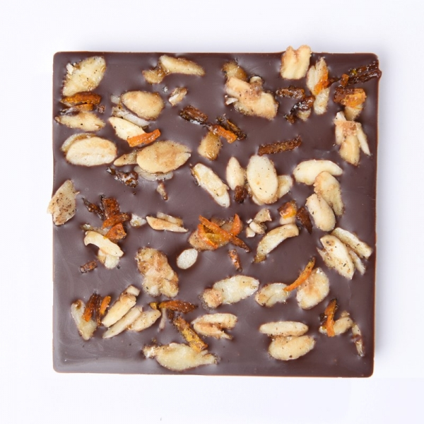 Almond Orange - Schoccolatta Raw Vegan Chocolate 2