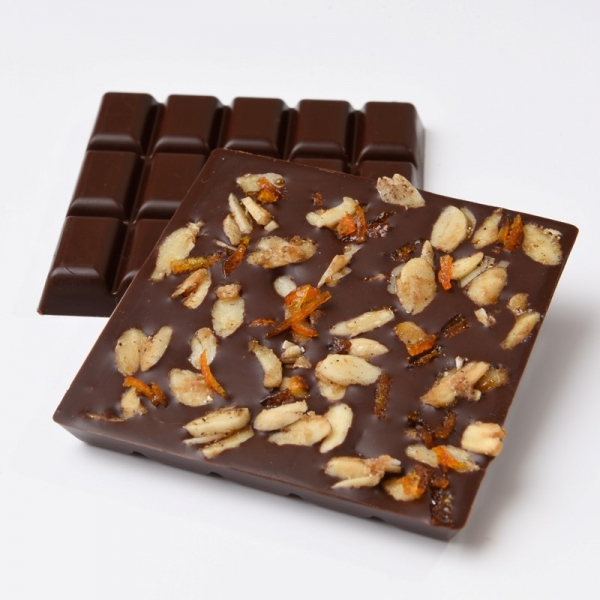 Almond Orange - Schoccolatta Raw Vegan Chocolate