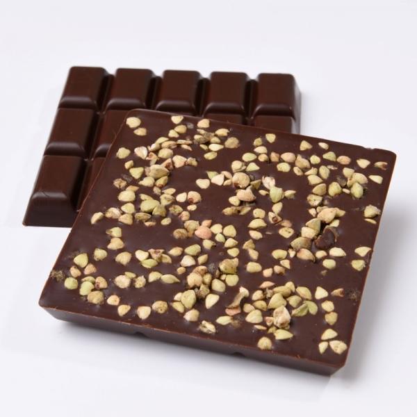 Mint Buckwheat - Schoccolatta Raw Vegan Chocolate